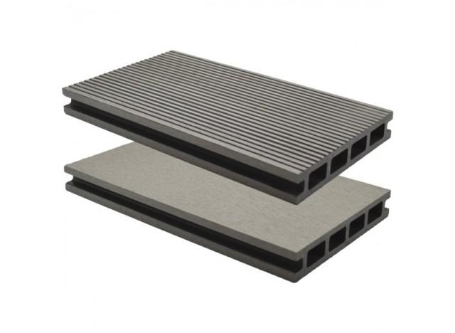 Lame de terrasse composite Lameo XTRA - Béton - 25x145mm - LG : 3.40m