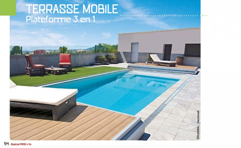 Terrasses mobiles : Ookit, Deckwell, Walu Deck, Pooldeck, Stilys Rolling deck. Comment s'y retrouver?